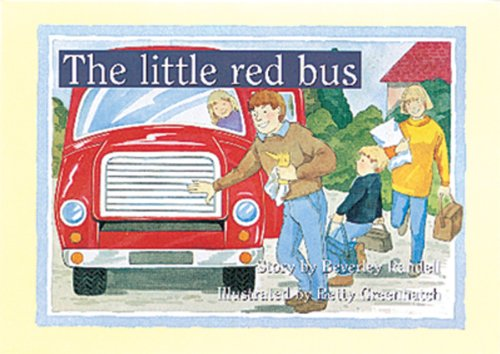 9780174011378: PM Library Green Set A Fiction (X16): The Little Red Bus PM Set 2 Green Level 13 (PM Storybooks - Green Level Set 2)