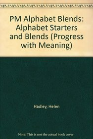9780174014157: PM Alphabet Blends: Alphabet Starters and Blends (Progress with Meaning)