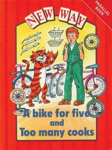 9780174015383: New Way Red Level Parallel Book - A Bike for Five and Too Many Cooks