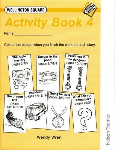 9780174017455: Wellington Square Activity Book 4