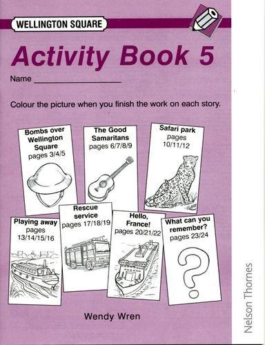 9780174017462: Wellington Square Activity Book 5 (X6)