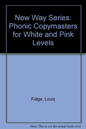 9780174027812: New Way Series: Phonic Copymasters for White and Pink Levels