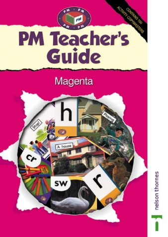9780174027843: PM Teachers Guide Magenta Level (Progress with Meaning)