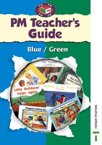 9780174027867: PM Blue/Green Teacher's Guide: Blue/green Levels (Progress with Meaning)