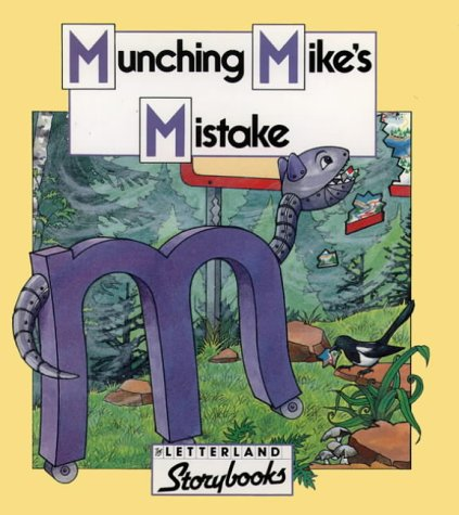 9780174101918: Munching Mike?s Mistake Book and Tape Pack (Letterland Storybooks)