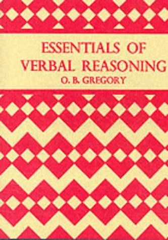 9780174102960: Essentials of Verbal Reasoning