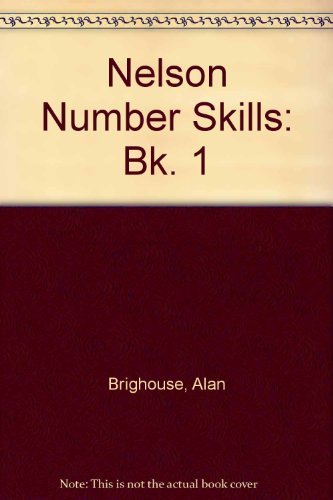 9780174111146: Nelson Number Skills: Bk. 1