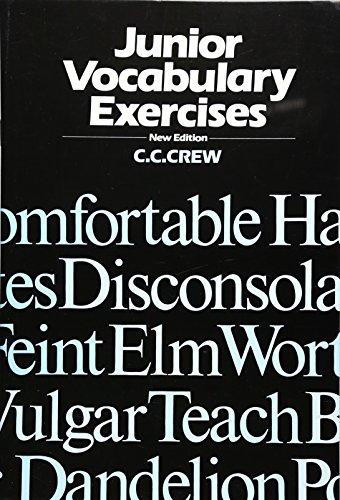 9780174132561: Junior Vocabulary Exercises