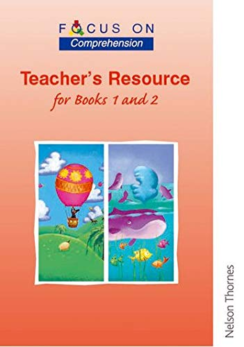 9780174202967: Focus on Comprehension - Teachers Resource for Books 1 and 2