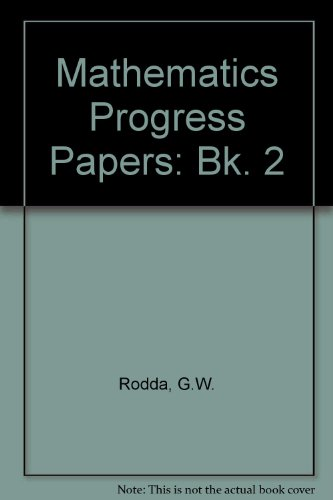 9780174210689: Mathematics Progress Papers: Bk. 2
