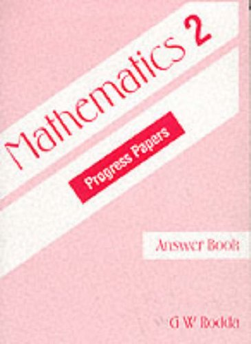 9780174210696: Mathematics Progress Papers: Ans Bk. 2