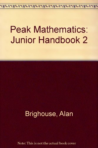9780174213659: Peak Mathematics: Junior Handbook 2