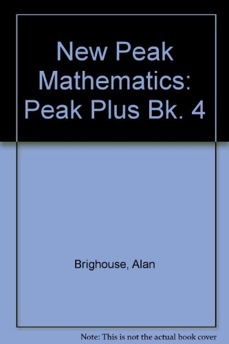 9780174214496: New Peak Mathematics: Peak Plus Bk. 4