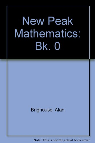 9780174215578: New Peak Mathematics: Bk. 0