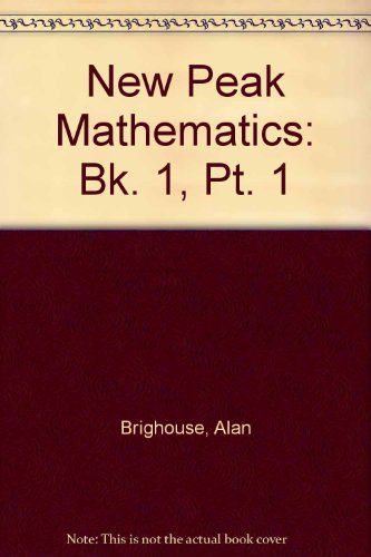 9780174215585: New Peak Mathematics: Bk. 1, Pt. 1