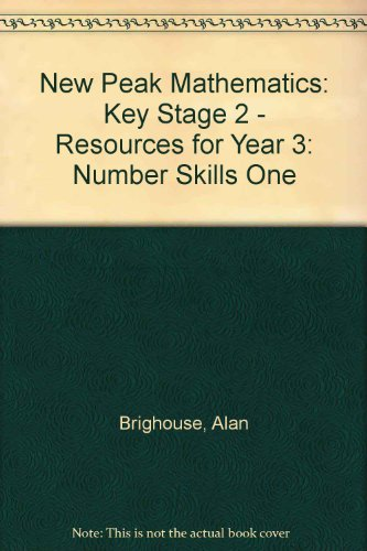 9780174215653: New Peak Mathematics: Key Stage 2 - Resources for Year 3: Number Skills One