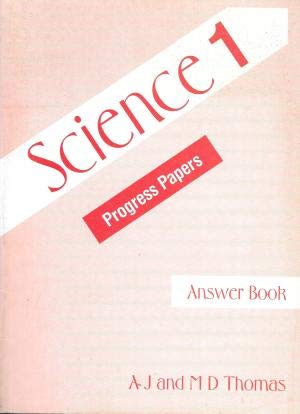 9780174231097: Science Progress Papers, Answer Book 1 : Ans.Bk No. 1