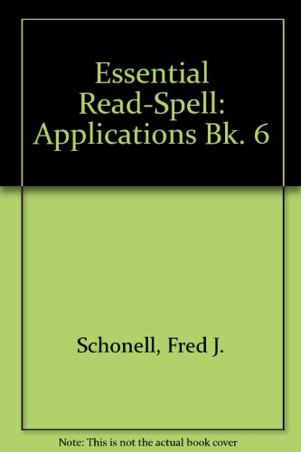 9780174240846: Essential Read-Spell: Applications Bk. 6