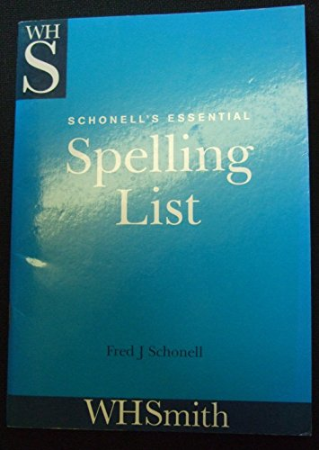 9780174240884: Schonell's Essential Spelling List