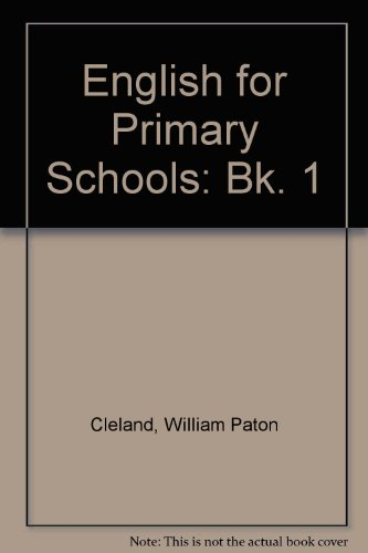 9780174242505: English for Primary Schools: Bk. 1
