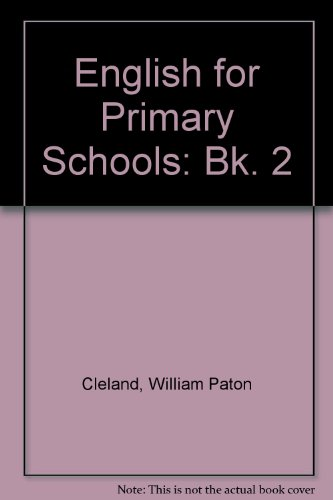 9780174242550: English for Primary Schools: Bk. 2