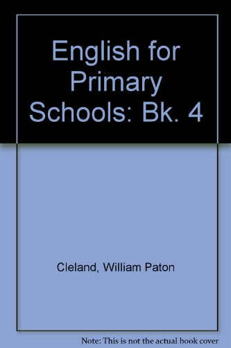 9780174242574: English for Primary Schools: Bk. 4