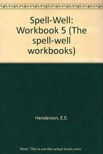 9780174242932: Spell-Well: Workbook 5 (The spell-well workbooks)