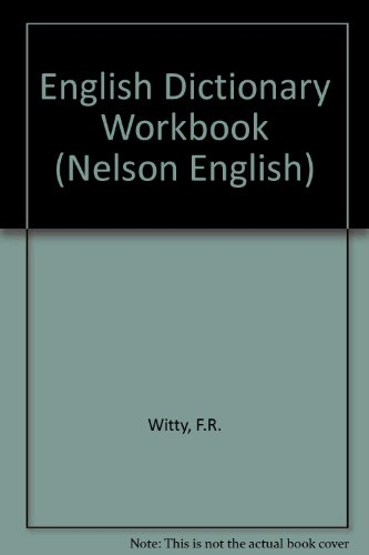 9780174243199: English Dictionary Workbook (Nelson English)