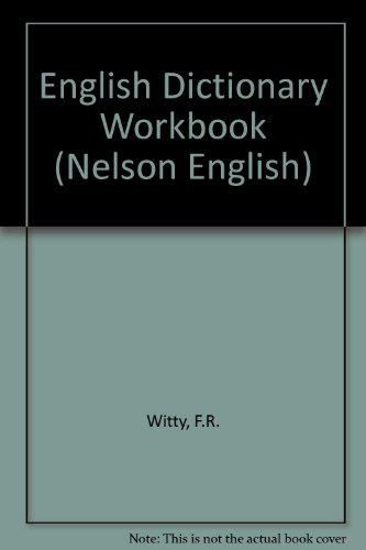 9780174243199: English Dictionary Workbook (Nelson English)