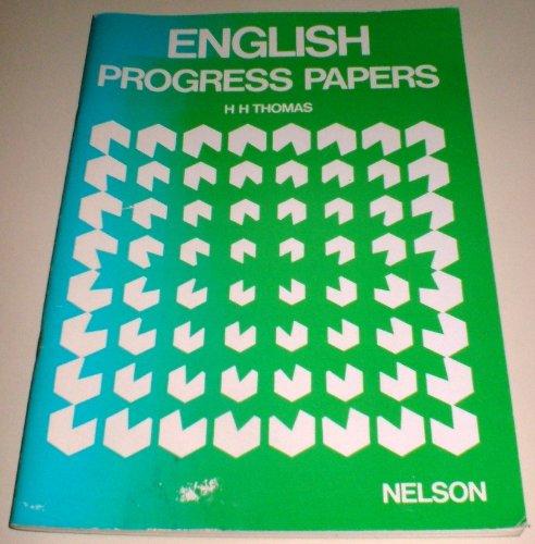 9780174243717: English Progress Papers