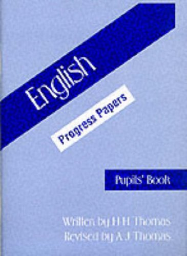 9780174244776: English: Progress Papers, Pupils' Book