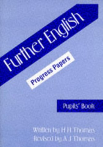 9780174244790: Further English Progress Papers