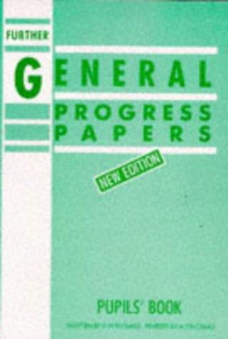 9780174244837: Further General Progress Papers New Edition