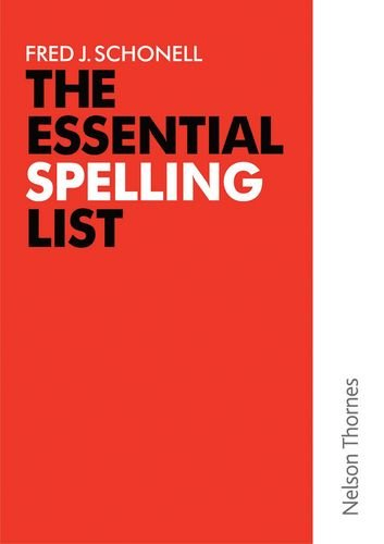9780174244936: The Essential Spelling List: 3,200 Everyday Words