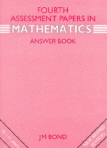 9780174245087: Fourth Year Assessment Papers in Mathematics: Answer Book