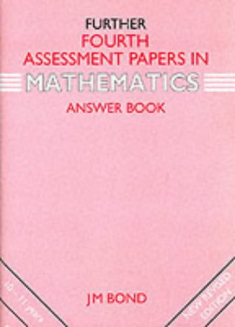9780174245100: Mathematics: 4th Year Assessment Papers: Answers