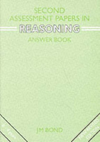 9780174245148: Second Assessment Papers in Reasoning Teacher's Book