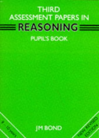 9780174245155: Reasoning: 3rd Year Papers: Assessment Papers