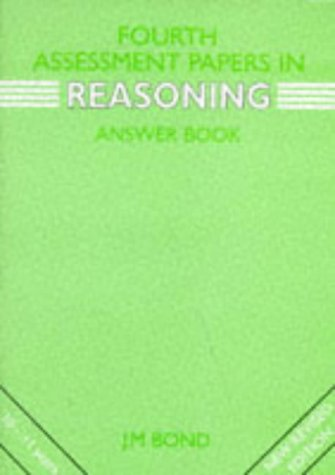9780174245186: Reasoning: 4th Year Papers: Assessment Papers