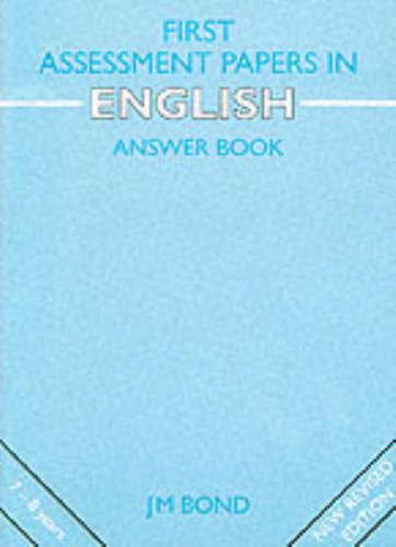 9780174245223: First Assessment Papers in English Teacher's Book