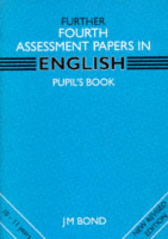 9780174245292: Further English: 4th Year Papers: Assessment Papers (Further fourth assessment)