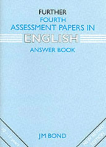 9780174245308: Further Fourth Assessment Papers in English Answer Book: 4th Year Papers