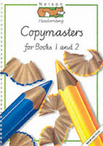 9780174246725: Nelson Handwriting: Copymasters for Books One & Two