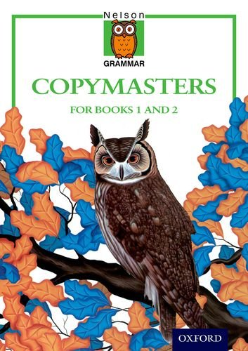 9780174247203: Nelson Grammar - Copymasters for Books 1 and 2