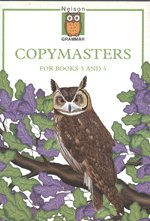 9780174247210: Nelson Grammar - Copymasters for Books 3 and 4
