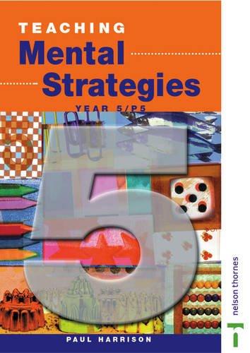 9780174300908: Teaching Mental Strategies: Teacher's Book Y5/P6