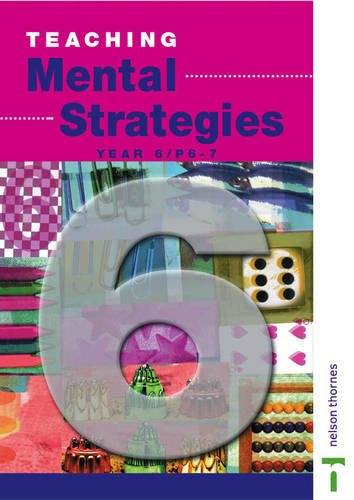 9780174300915: Teaching Mental Strategies - Year 6/P6-7: Teacher's Book Y6/P7