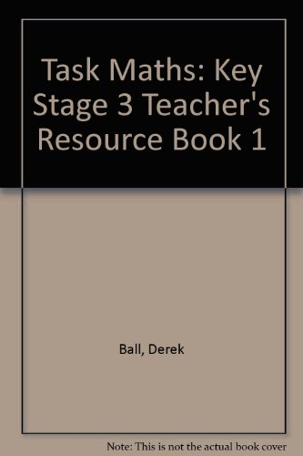 9780174311638: Task Maths: Key Stage 3 Teacher's Resource Book 1