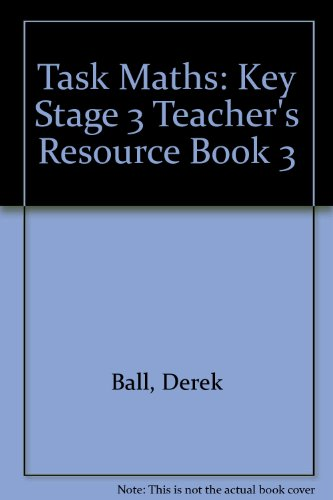 9780174311676: Task Maths: Key Stage 3 Teacher's Resource Book 3