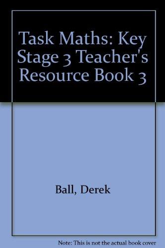 9780174311676: Task Maths: Key Stage 3 Teacher's Resource Book 3